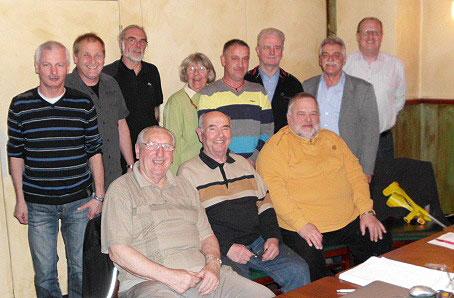Der aktuelle Vorstand des Scheiber Bürgervereins